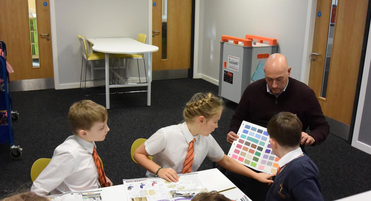 MACOI Ltd collaboration with Hayfield Cross CofE School, Kettering