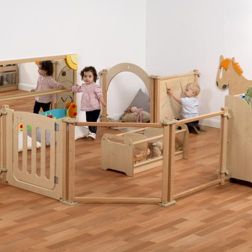 Wooden nursery furniture and equipment