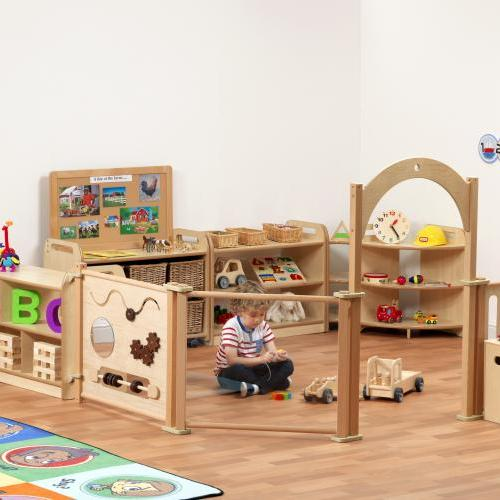 Early years' wooden furniture play centre and equipment