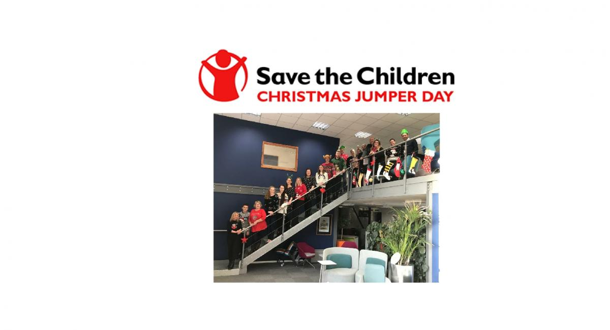 The MACOI team joined in the fun and wore their best festive knit with pride in aid of the charity - Save the Children.
