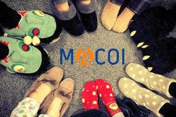 MACOI Age UK Slippers Day 2018
