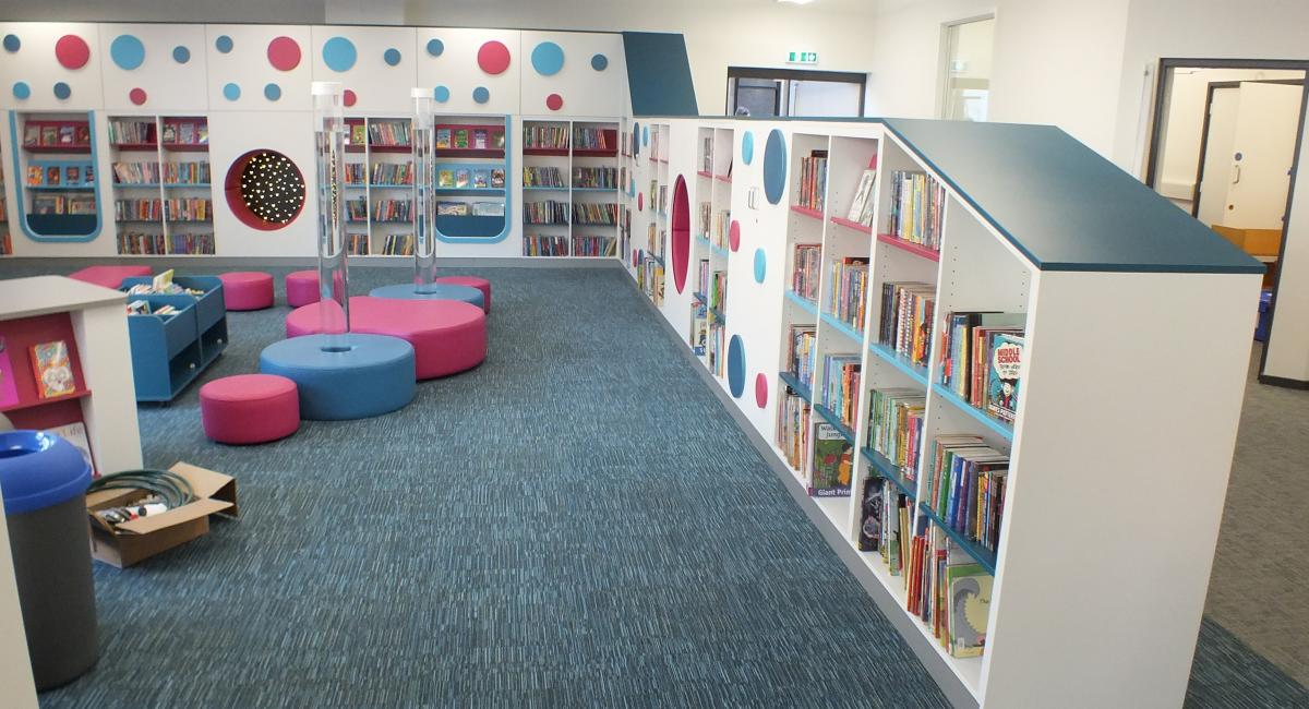 Aylesbury Library Book Shelving