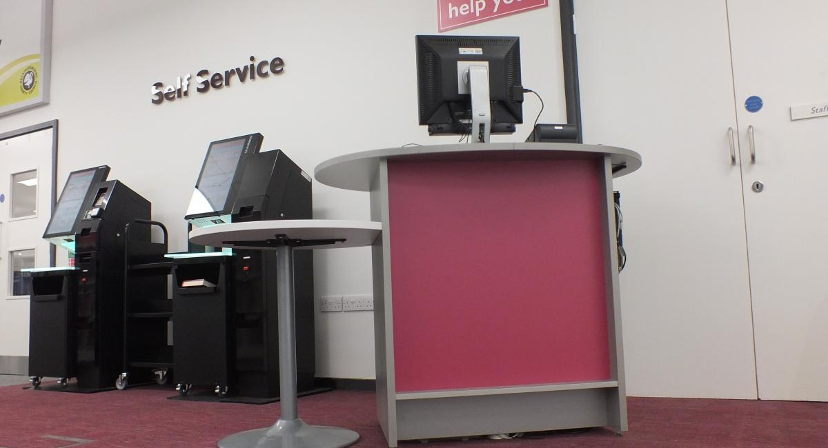 Aylesbury Library, Self Service Pod