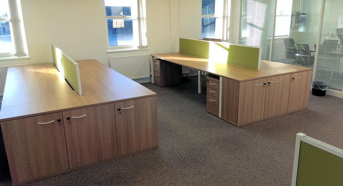 Mayflex, St  Neots - Cambridgeshire - Office Furniture Refurbishment