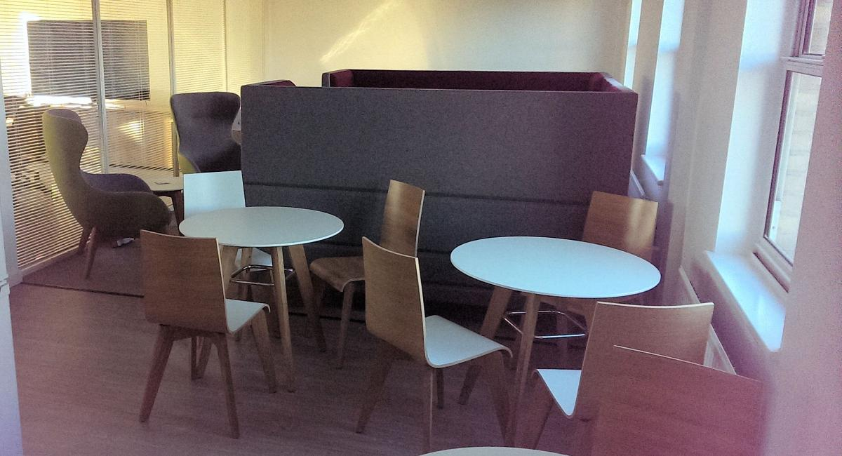 Mayflex, St  Neots - Cambridgeshire. Office Furniture Refurbishment