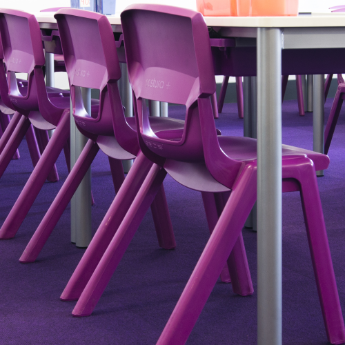 Classroom Chairs-Education Furniture-CCE08