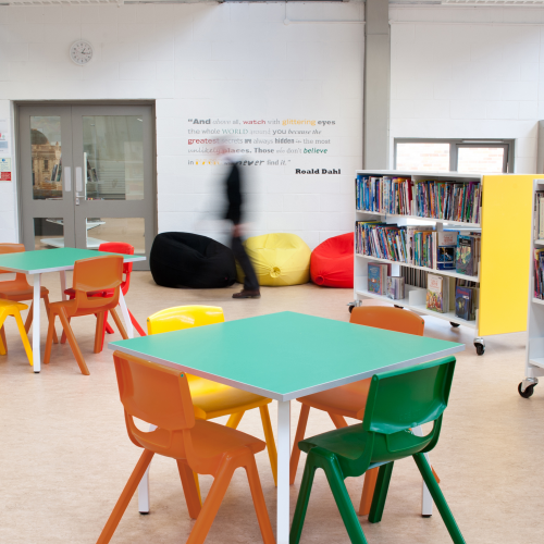 Classroom Chairs-Education Furniture-CCE09
