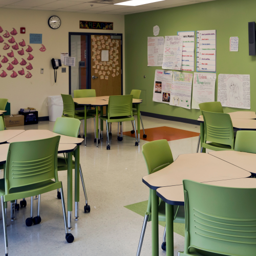 Classroom Chairs-Education Furniture-CCE18