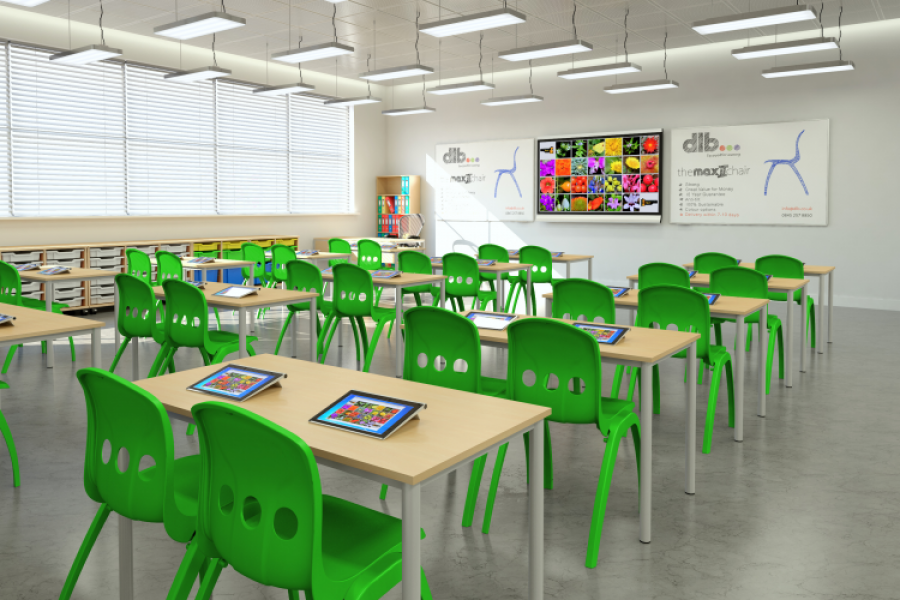Classroom Chairs-Education Furniture-CCE01