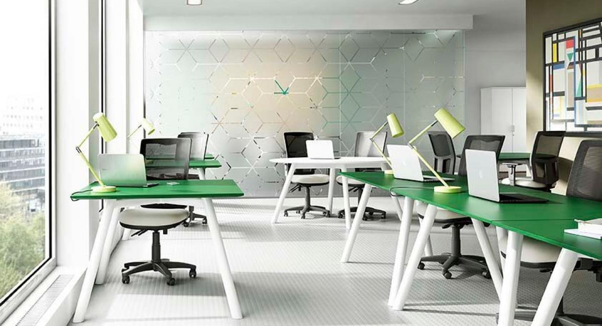 office desking. office furniture desking