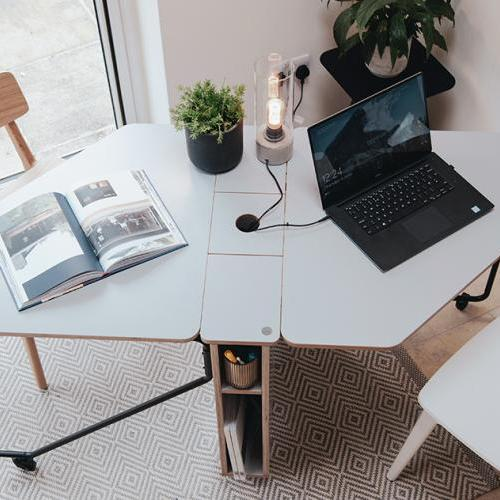 Working from home - Drop range (fold away desk)